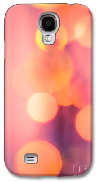 Psychedelic Photographs Galaxy S4 Cases - Peach Melba Galaxy S4 Case by Jan Bickerton