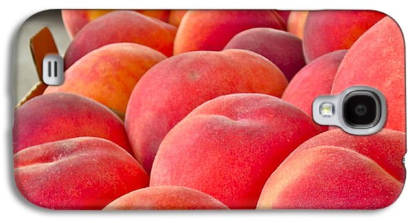 Peaches For Sale Galaxy S4 Case by Gwyn Newcombe