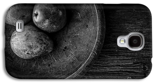 Pear Still Life In Black And White Galaxy S4 Case by Edward Fielding