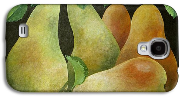 Pear Art Galaxy S4 Cases - Pears Galaxy S4 Case by Jennifer Abbot