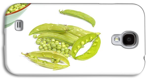 Green Galaxy S4 Cases - Peas and pods Galaxy S4 Case by Patricia Hofmeester