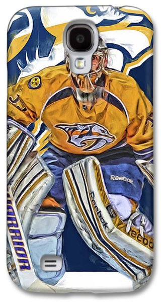 Pekka Rinne Nashville Predators Galaxy S4 Case by Joe Hamilton