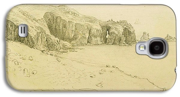 Pele Point, Land's End Galaxy S4 Case by Samuel Palmer