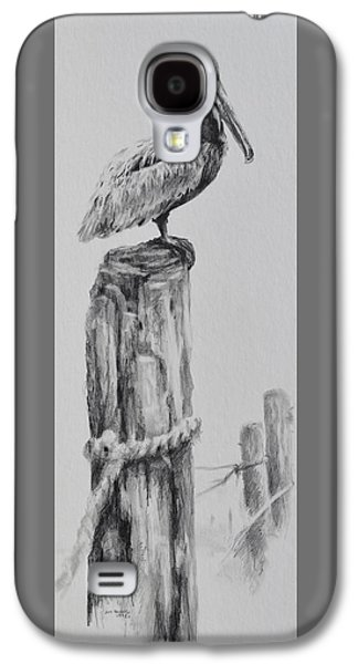 Drawing Galaxy S4 Cases - Pelican Galaxy S4 Case by Jim Young