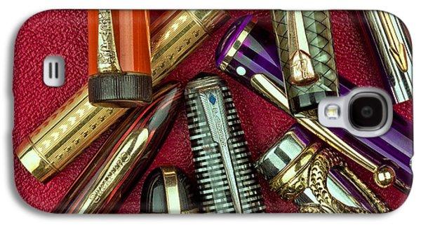 Pen Caps Still Life Galaxy S4 Case by Tom Mc Nemar