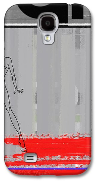 Intense Galaxy S4 Cases - Pencil Fashion Galaxy S4 Case by Naxart Studio