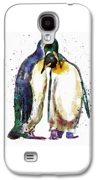 Penguin Couple Galaxy S4 Case by Marian Voicu