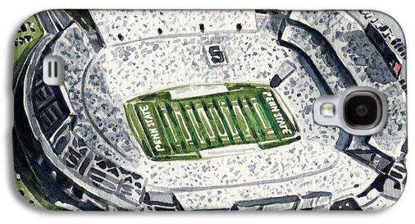 Penn State Beaver Stadium Whiteout Game University Psu Nittany Lions Joe Paterno Galaxy S4 Case by Laura Row