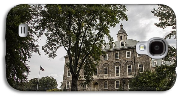 Penn State Old Main And Tree Galaxy S4 Case by John McGraw