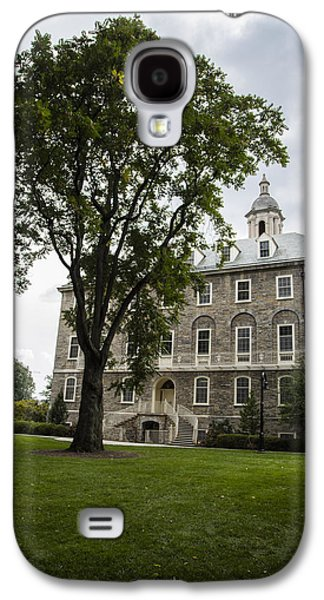 Penn State Old Main From Side  Galaxy S4 Case by John McGraw