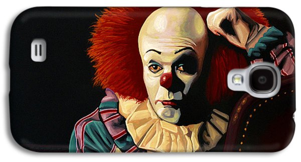 Mysterious Galaxy S4 Cases - Pennywise Galaxy S4 Case by Paul Meijering