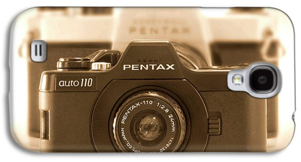 35mm Galaxy S4 Cases - Pentax 110 Auto Galaxy S4 Case by Mike McGlothlen
