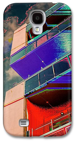 Dreamscape Galaxy S4 Cases - Penthouse Access Galaxy S4 Case by Wendy J St Christopher