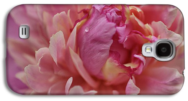 Indiana Flowers Galaxy S4 Cases - Peony Opening Galaxy S4 Case by Sandy Keeton