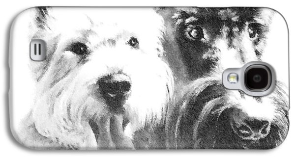 Westie Digital Galaxy S4 Cases - Pepsi and Max Galaxy S4 Case by Charmaine Zoe