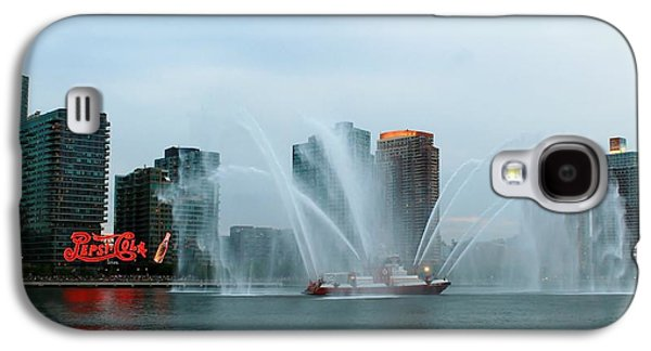 Recently Sold -  - 4th July Galaxy S4 Cases - Pepsi sign and FDNY  Galaxy S4 Case by Catie Canetti