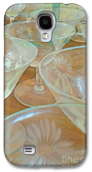 Wine Service Galaxy S4 Cases - Perfectly Empty Galaxy S4 Case by CR Leyland