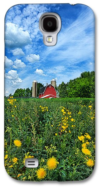 Red Barns Galaxy S4 Cases - Perfectly Summer Galaxy S4 Case by Phil Koch