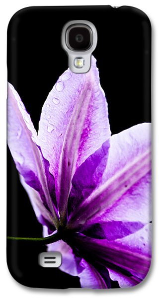 Pinks And Purple Petals Photographs Galaxy S4 Cases - Perspective Galaxy S4 Case by Shelby  Young
