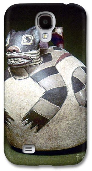 Water Jars Galaxy S4 Cases - Peru: Nazca Whistling Jar Galaxy S4 Case by Granger