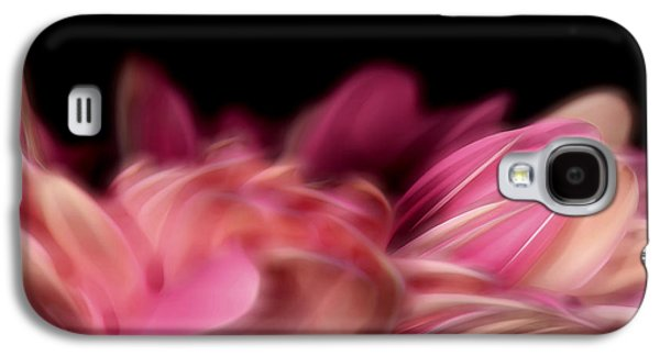Nature Abstract Pyrography Galaxy S4 Cases - Petal II Galaxy S4 Case by David Dominguez