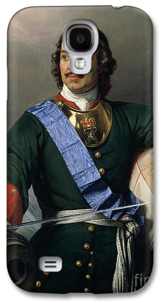 Peter I The Great Galaxy S4 Case by Delaroche