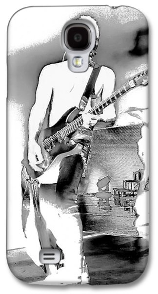 Phil Collen Of Def Leppard Galaxy S4 Case by David Patterson