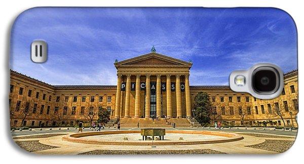 Phillies Art Galaxy S4 Cases - Philadelphia Art Museum Galaxy S4 Case by Evelina Kremsdorf