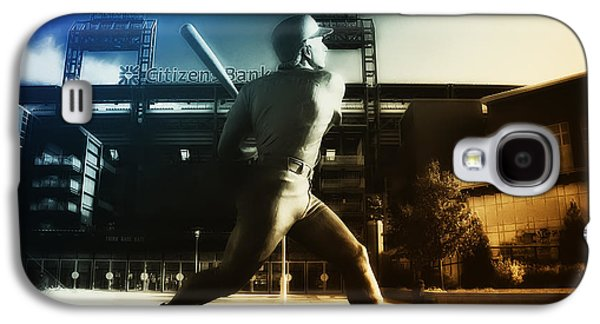 Philadelphia Phillie Mike Schmidt Galaxy S4 Case by Bill Cannon