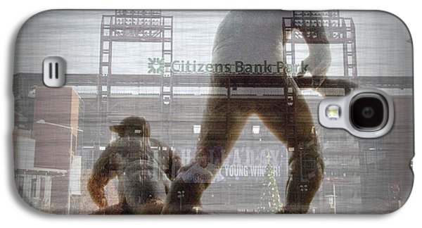 Philadelphia Phillies - Citizens Bank Park Galaxy S4 Case by Bill Cannon