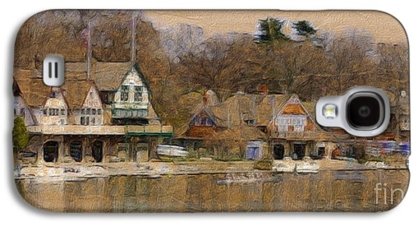 Transportation Photographs Galaxy S4 Cases - Philadelphia Rowing Clubs Galaxy S4 Case by Marcia Lee Jones