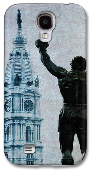 Stallone Digital Galaxy S4 Cases - Philadelphias Champion - Rocky Balboa Galaxy S4 Case by Bill Cannon