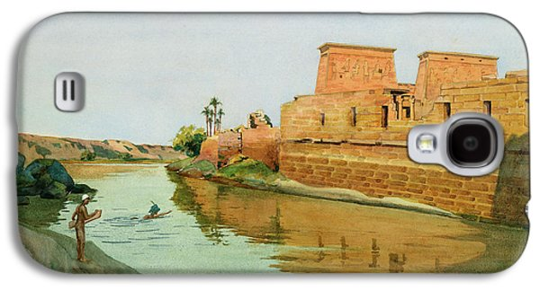 Philae On The Nile Galaxy S4 Case by Alexander West