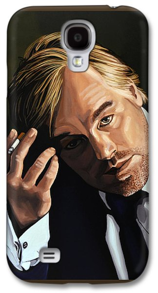 Master Paintings Galaxy S4 Cases - Philip Seymour Hoffman Galaxy S4 Case by Paul Meijering