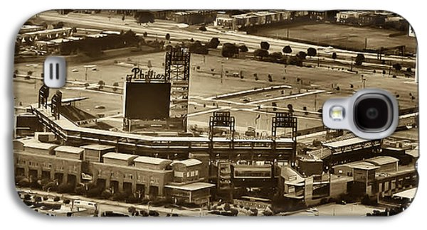Phillies Stadium - Citizens Bank Park Galaxy S4 Case by Bill Cannon