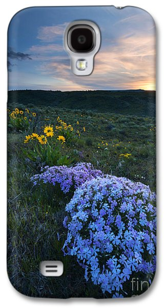 Yakima Valley Galaxy S4 Cases - Phlox Sunset Galaxy S4 Case by Mike Dawson