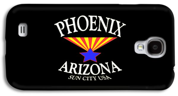 Universities Tapestries - Textiles Galaxy S4 Cases - Phoenix Arizona Galaxy S4 Case by Peter Fine Art Gallery  - Paintings Photos Digital Art