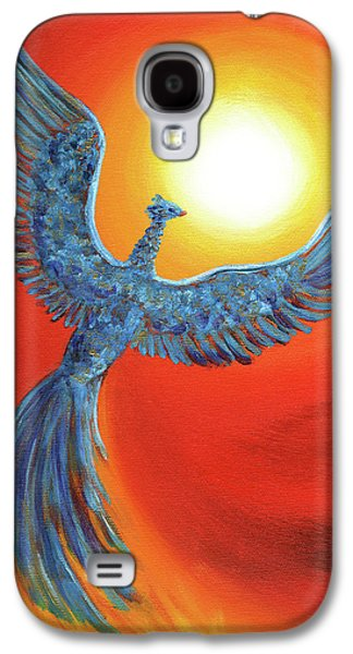 Phoenix Rising Galaxy S4 Case by Laura Iverson