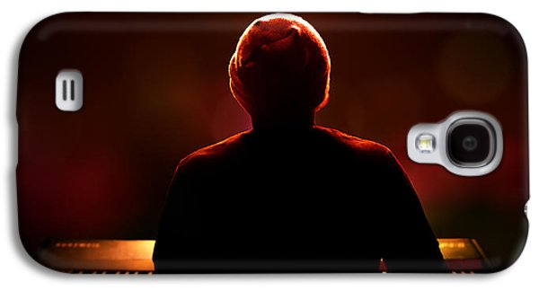 Pianist On Stage From Behind Galaxy S4 Case by Johan Swanepoel