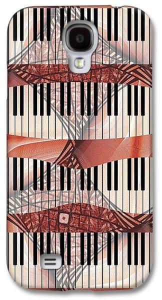 Galaxy S4 Cases - Piano - Keyboard - Musical Instruments Galaxy S4 Case by Anastasiya Malakhova