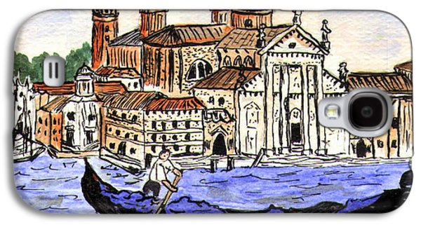 Piazzo San Marco Venice Italy Galaxy S4 Case by Arlene  Wright-Correll