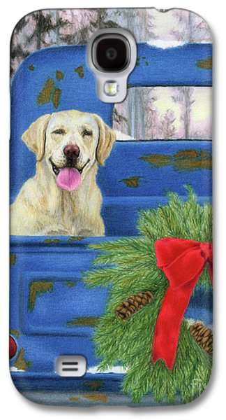 Pick-en Up The Christmas Tree Galaxy S4 Case by Sarah Batalka