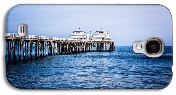 Landmarks Photographs Galaxy S4 Cases - Picture of Malibu Pier in Southern California Galaxy S4 Case by Paul Velgos