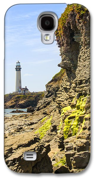 Alga Galaxy S4 Cases - Pidgeon Point Lighthouse Galaxy S4 Case by Bryant Coffey