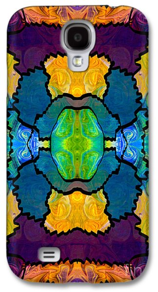 Impressionism Tapestries - Textiles Galaxy S4 Cases - Pieces Of The Puzzle Organic Bliss Designs Galaxy S4 Case by Omaste Witkowski