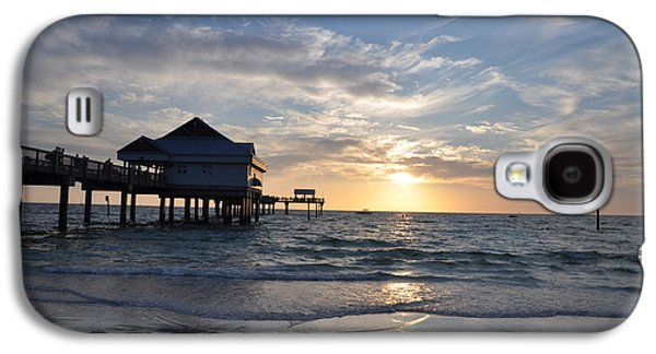 Pier Digital Galaxy S4 Cases - Pier 60 at Clearwater Beach Florida Galaxy S4 Case by Bill Cannon