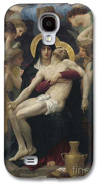 Pieta Galaxy S4 Case by William Adolphe Bouguereau