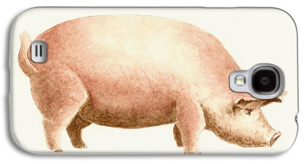 Pig Galaxy S4 Case by Michael Vigliotti