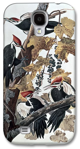 Pileated Woodpeckers Galaxy S4 Case by John James Audubon