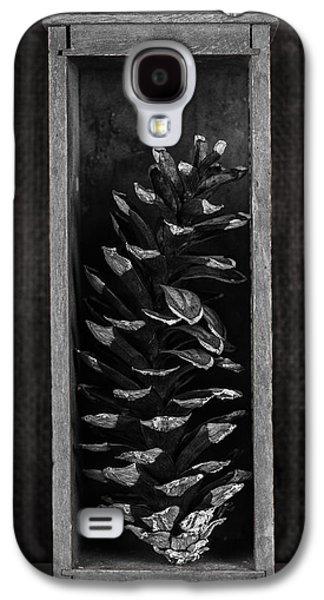 Pine Cone In A Box Still Life Galaxy S4 Case by Tom Mc Nemar